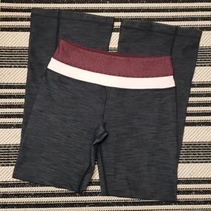 Lululemon Groove Flare Yoga Pant Pink Waist, sz 4